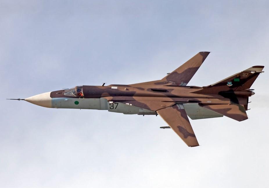 Su-24 Suriah