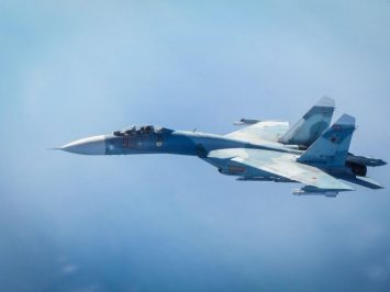 Su-27 Baltic Fleet