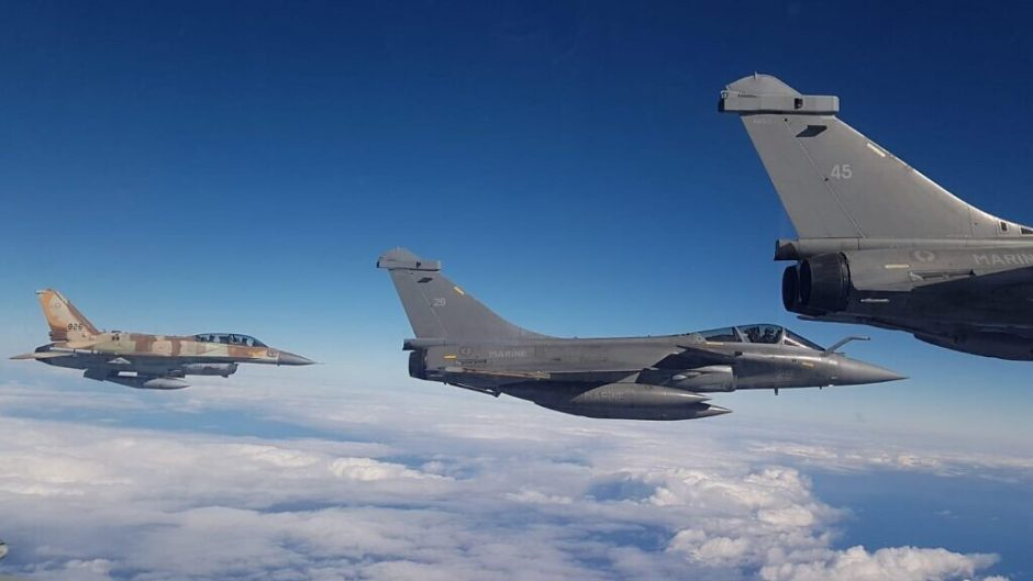 Tiga lawan Tiga, F-16 Soufa Vs Rafale di selatan Israel