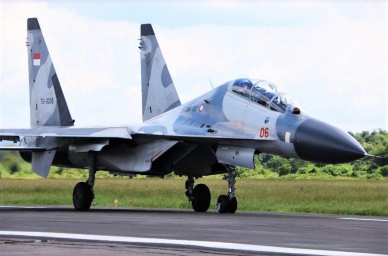 Sukhoi TNI AU TS-1306_airspace review