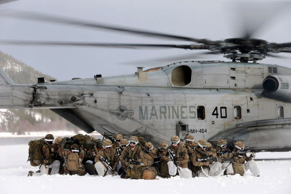 USMC at Cold Response 2020