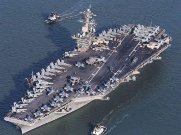 Usai kunjungi Vietnam, tiga awak USS Theodore Roosevelt positif COVID-19