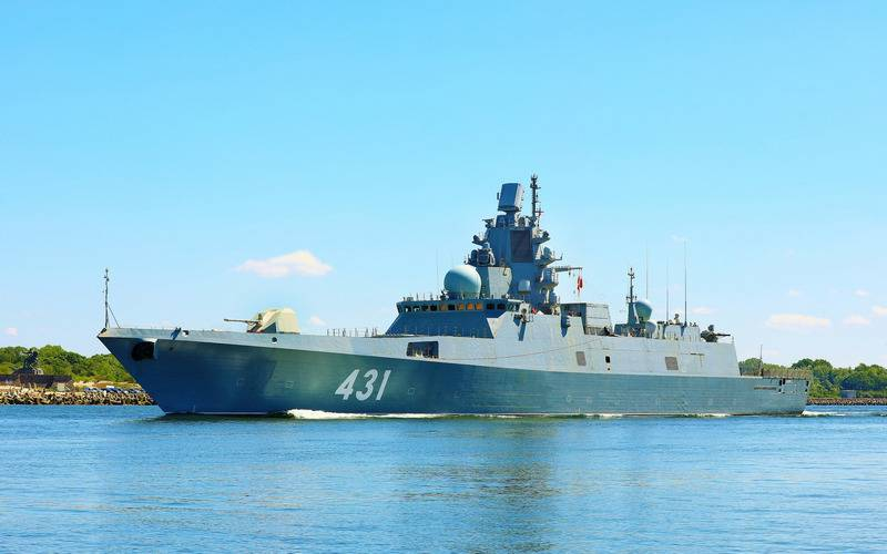 Admiral Kastonov Projet 22350