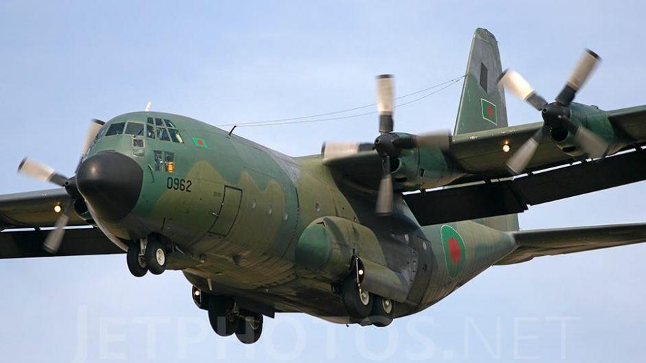 5 C-130J, sang kuda beban udara baru AU Bangladesh