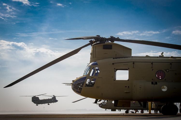 AU Belanda terima CH-47F Chinook pertama dari 20 unit pesanan