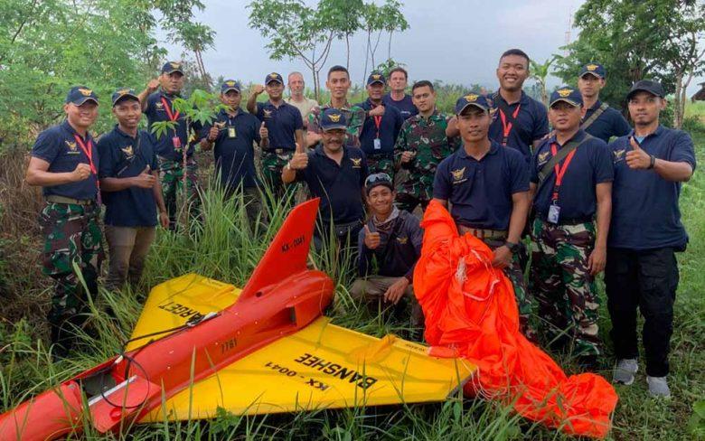 Drone Banshee TNI
