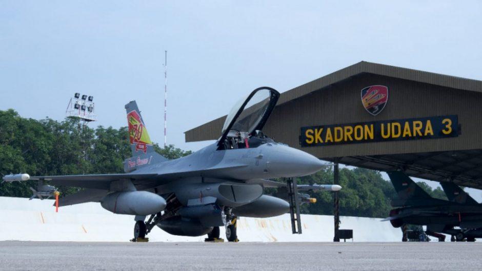 Corak baru jet tempur F-16A TS-1610 Skadron Udara 3