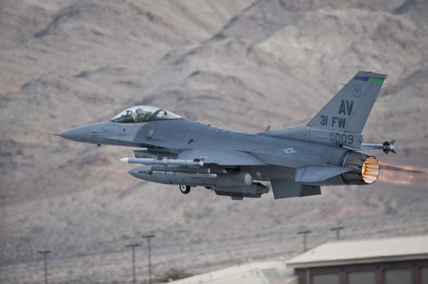 F-16 USAF at Aviano Air Base
