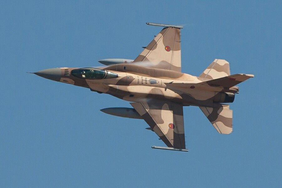 F-16 Maroko