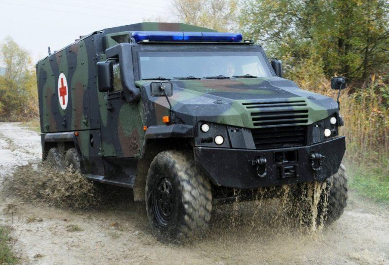 Eagle 6x6 ambulance