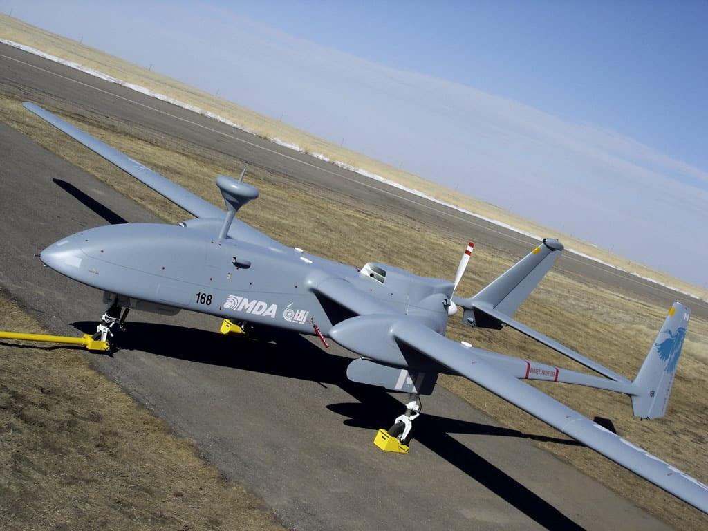 IAI Heron drone