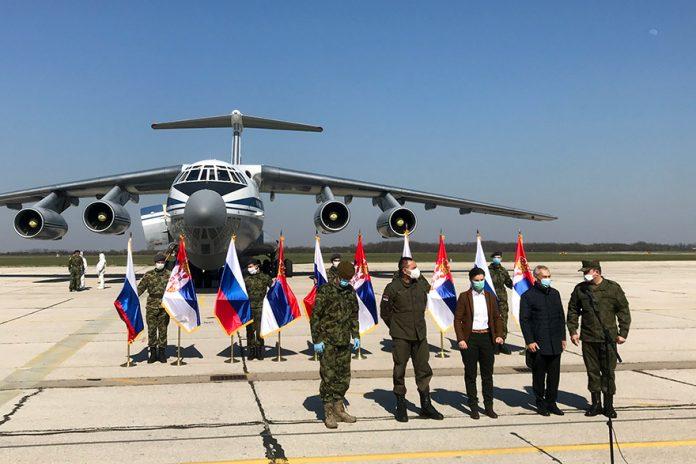 Il-76-tiba-di-Serbia