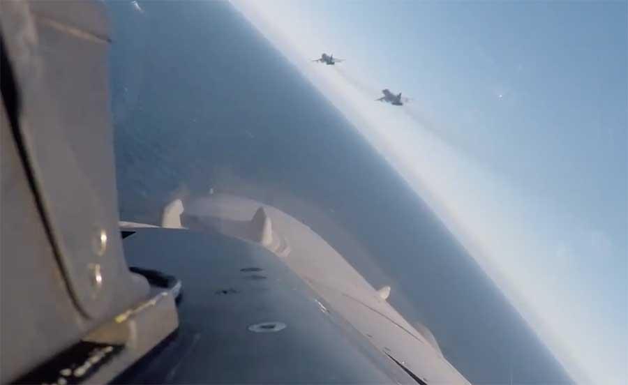 F-16 Intersep pesawat Rusia