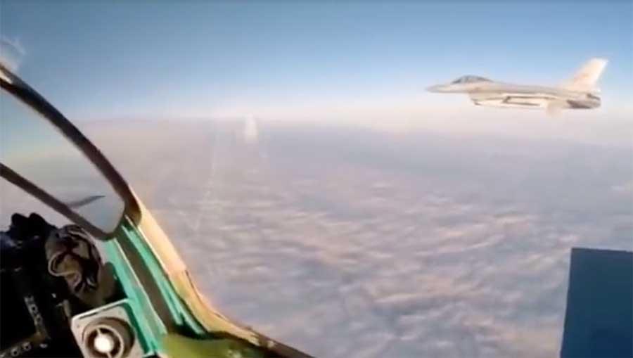 MiG-31 pepet F-16 NATO copy