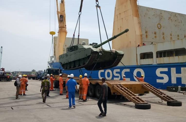 Nigerian VT4 MBT