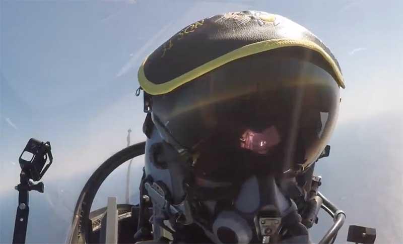 Pilot pesawat F-16 Belgia copy