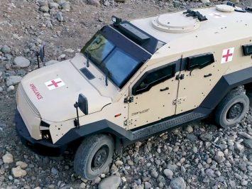 Sancat-Stormer ambulance