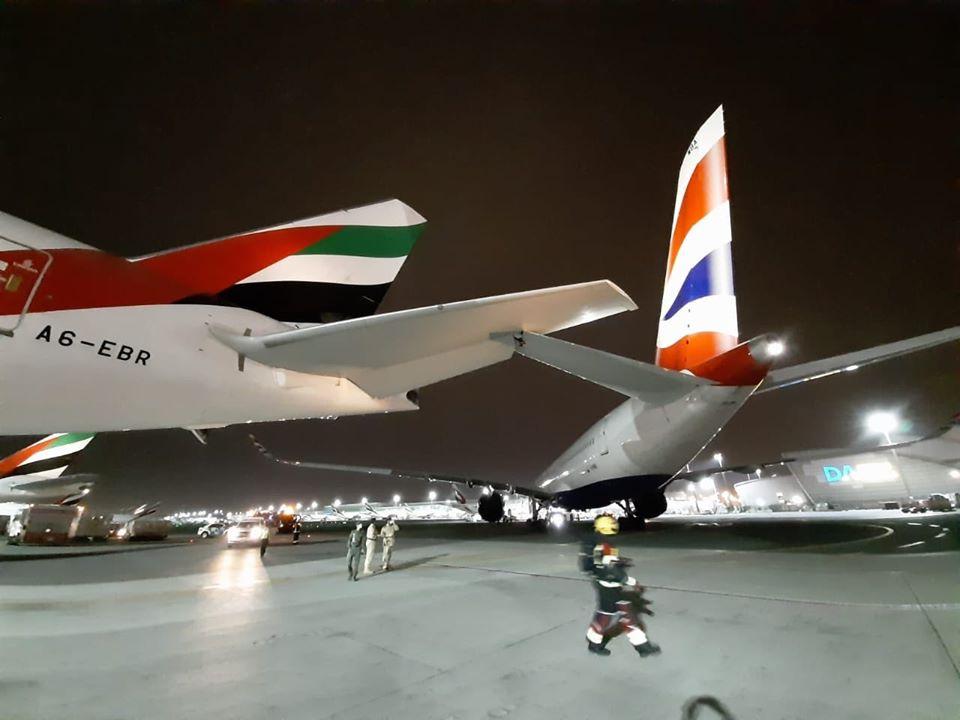 Senggolan A350-1000 British Airways dan Boeing 777-300ER Emirates