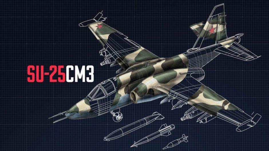 Skadron gagak Su-25SM3 di Krasnodar bombardir sasaran darat