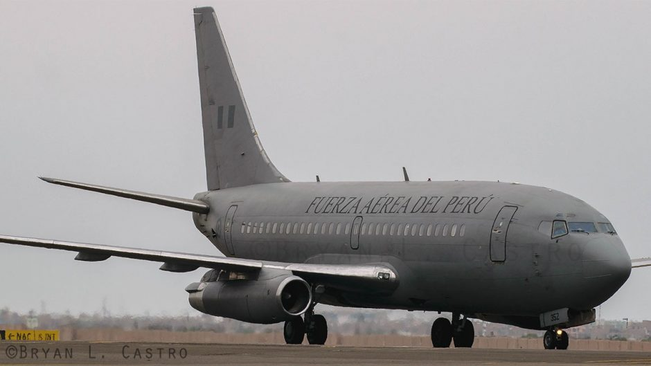 Berusia setengah abad, 737 tertua masih dioperasikan oleh Angkatan Udara Peru