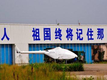 Drone helikopter AVIC AR500C buatan China berhasil mengudara perdana