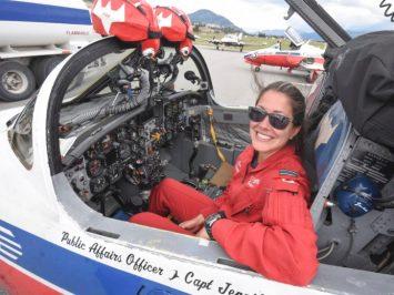 Capt Jennifer Casey - Snowbirds