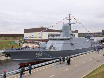 Rusia akan menguji Pantsir-M di korvet terbaru Project 22800 Odintsovo