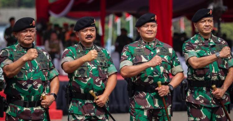 Panglima TNI dan Pangkogabwilhan