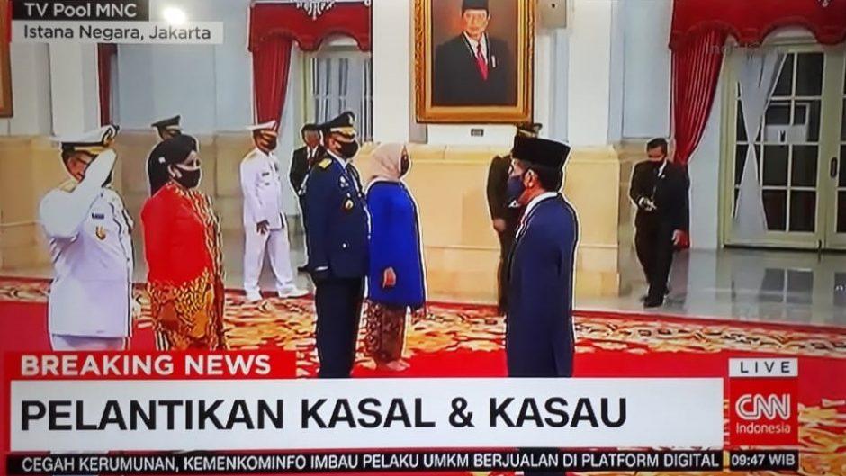 Penerbang pesawat kepresidenan dipilih Jokowi menjadi KSAU ke-23