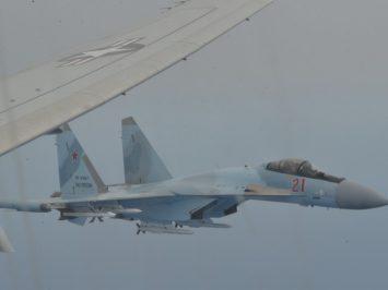 AS: Ugal-ugalan, dua Su-35 cegat P-8A Poseidon di Laut Mediterania