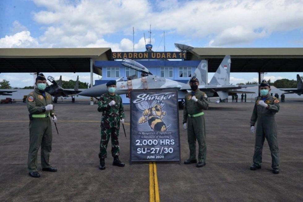 2000 jam terbang Stinger di Su-27-30