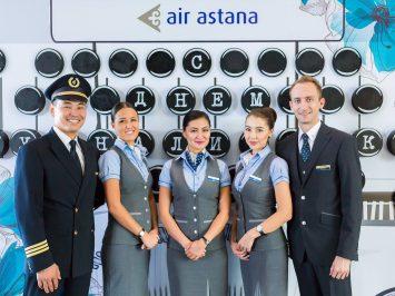 Pramugari Air Astana