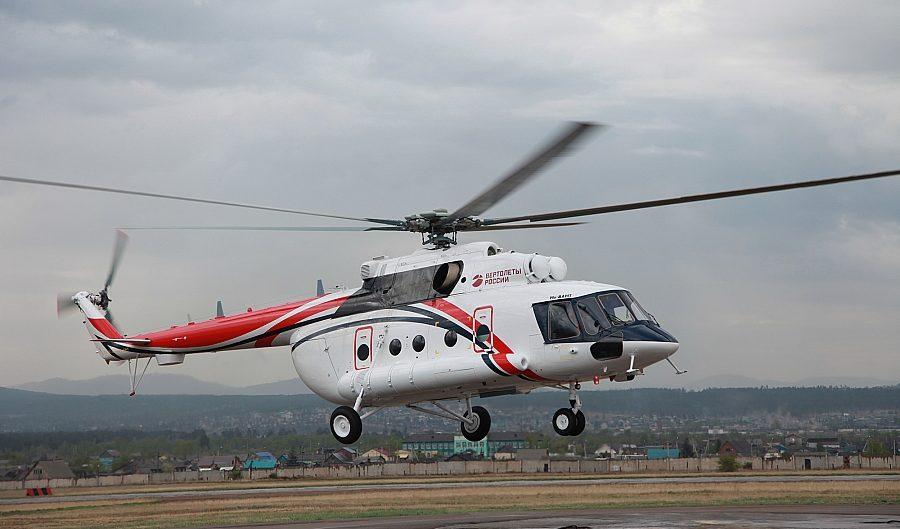 Russian Helicopters mulai produksi seri heli Mi-8AMT Arktik untuk sipil