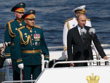 200 kapal perang akan lakukan parade di Hari Angkatan Laut Rusia