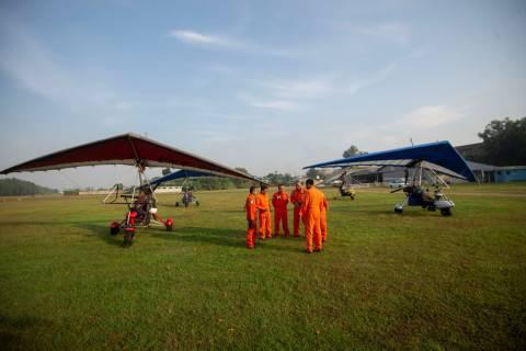 Trike penerbangan covid-19