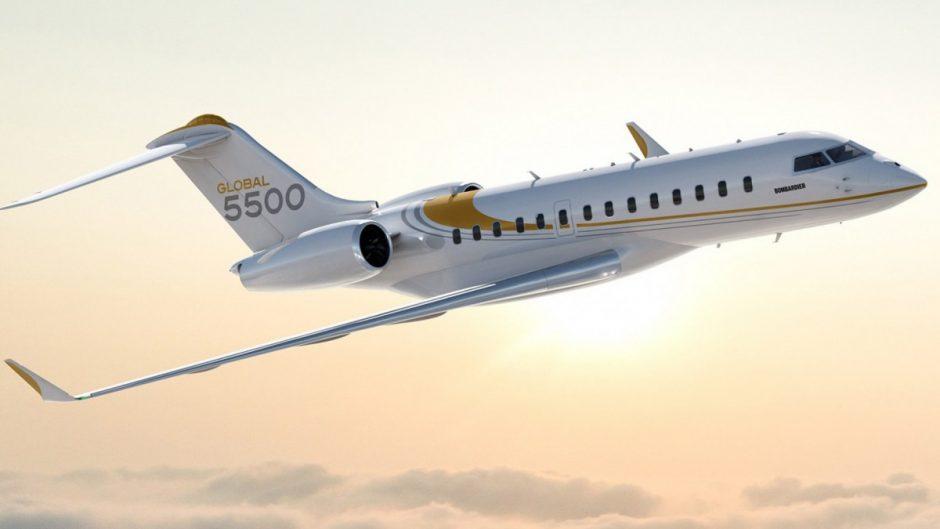 Bombardier Global 5500 mulai melakukan layanan penerbangan