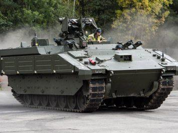 Ares, kendaraan intai dan angkut pasukan terbaru Kavaleri AD Inggris