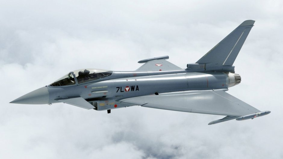 Plus-Minus membeli jet tempur Eurofighter Typhoon bekas Austria