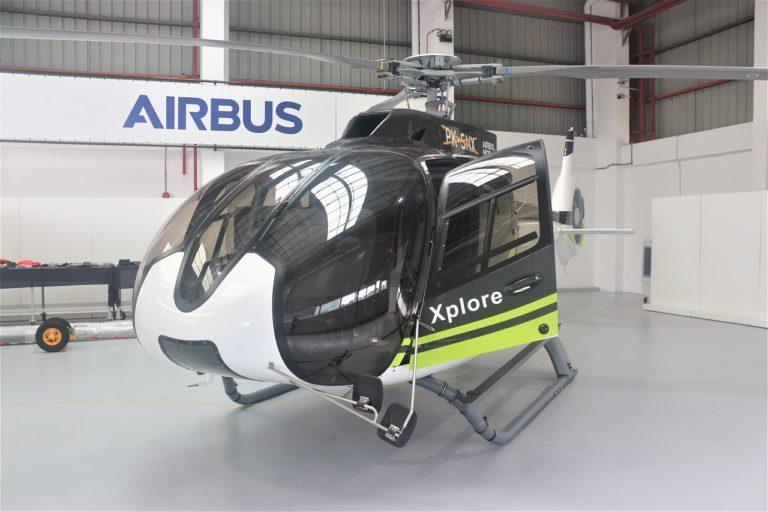 PT Smart Cakrawala Aviation terima H130 pertama dari Airbus