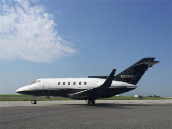 N339AV Hawker 800_