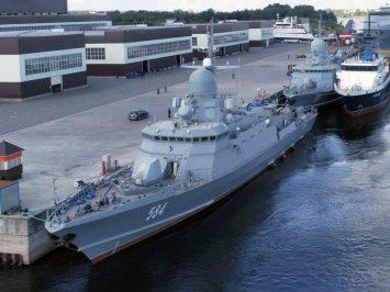 Project 22800, korvet pertama Rusia bersenjata sistem Pantsyr-M