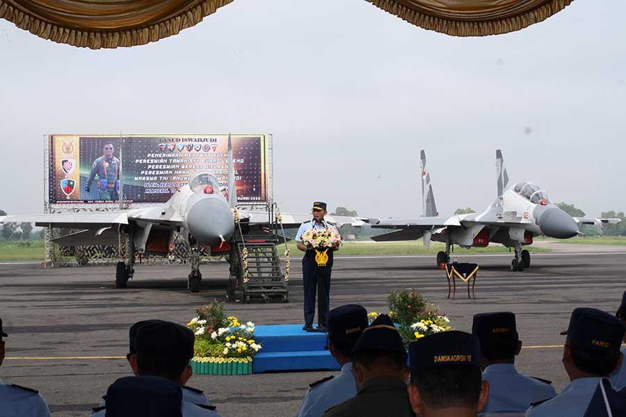 Peresmian Sukhoi Skadron Udara 14_Roni Sontani
