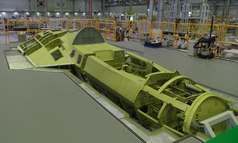 Badan pesawat KF-X