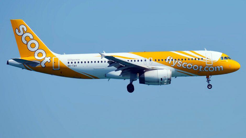 Scoot kembali terbangi rute Surabaya- Singapura pp