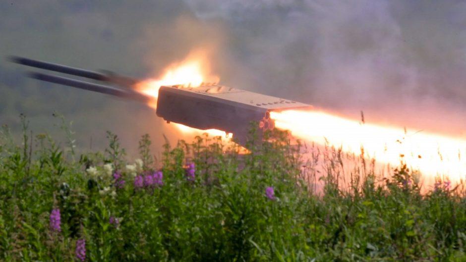 TOS-1A, sistem pelempar api berat dari Negeri Beruang