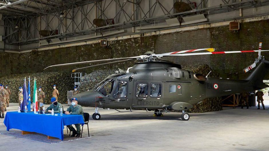 Leonardo serahkan satu AW169 versi latih dasar kepada AD Italia