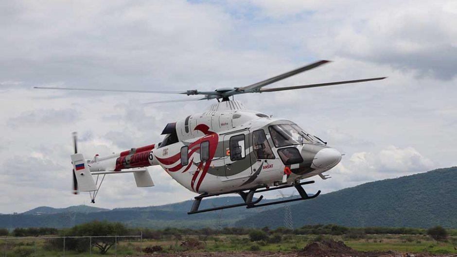 Helikopter Ansat memulai penerbangan di Meksiko