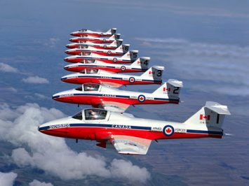 CT-114 Tutor Snowbirds