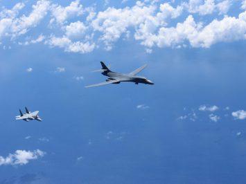 F-15J and B-1B