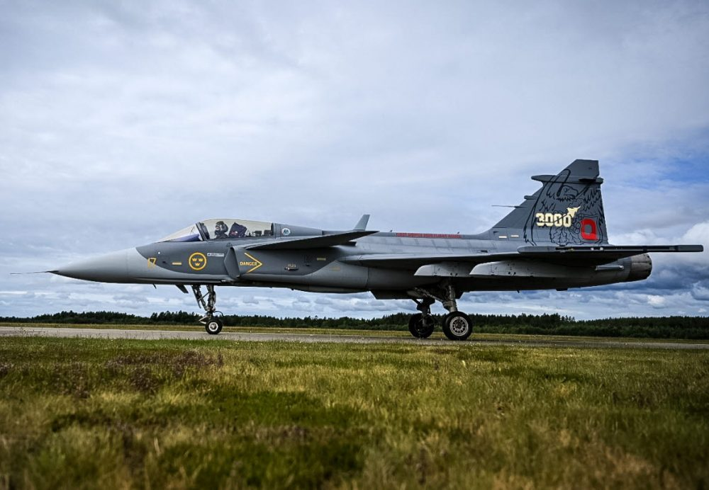 GripenC_3000th_Hours